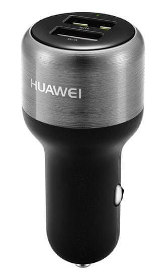 Huawei Rychlonabíječka do auta s kabelem AP31, šedá ORHUPSCAP31GR