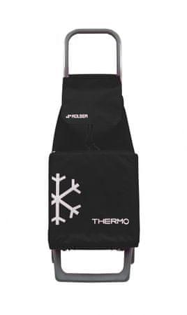 Rolser Nakupovalna torba na kolesih Jet Termo LN Joy, črna