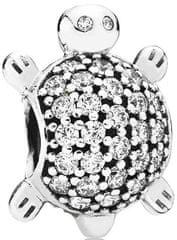Pandora Luksuzna kroglica Morska želva 791538CZ srebro 925/1000