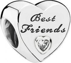 Pandora Strieborný korálik Best Friends 791727CZ striebro 925/1000