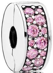 Pandora Csillogó rózsaszín medál 791817PCZ ezüst 925/1000