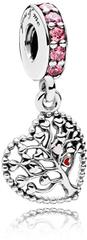 Pandora Prekrásny strieborný prívesok Strom lásky 796592CZSMX striebro 925/1000