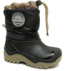 Ren But fantovski čevlji, z vezalko, črno-rjavi