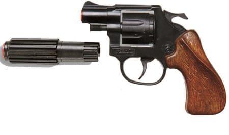 Denis revolver Viper z dušilcem