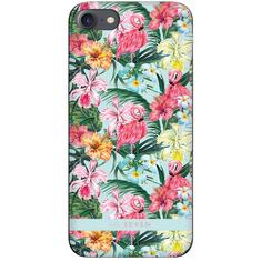 SO SEVEN Hawai Case Flamingo Tok az iPhone 6/6S/7/8 mobiltelefonra SSBKC0056