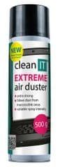 Clean IT Stlačený plyn 500 g nehořlavý EXTREME CL-136