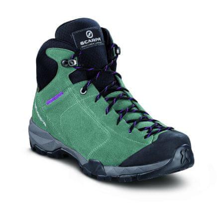 Scarpa ženski pohodni čevlji Mojito Hike Gtx Wmn Jade, zeleni, 37