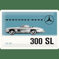 Postershop Plechová tabuľa: Mercedes-Benz 300 SL