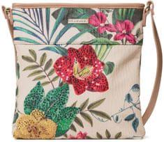 Desigual ženska torbica za čez rame Bols Clio Kaua, bež