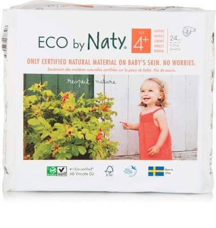 NATY Pelenkák Maxi+ 9-20 kg (24 db)