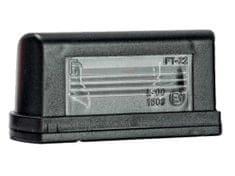 FRISTOM Osvetlenie SPZ FT-022,žárovka-sulfitka, bez kabelu