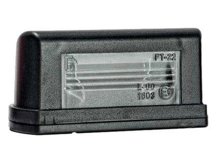 FRISTOM Osvětlení SPZ FT-022, žárovka-sufitku, bez kabelu