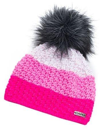 Capu Zimná čiapka 368-B Pink