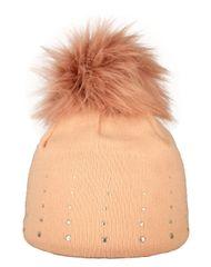 Capu Zimní čepice 1672-C Pink