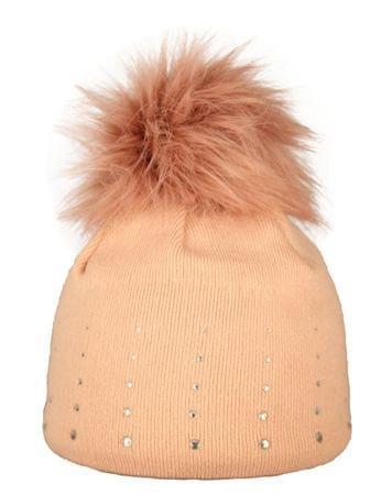 Capu Czapka zimowa 1672-C Pink
