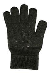 Capu Dámske rukavice 55304-E Dark Grey