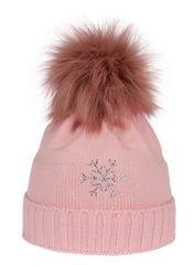 Capu Czapka zimowa 670-A Pink