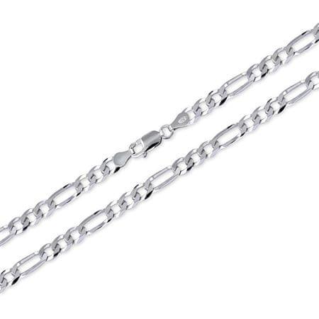 Brilio Silver Férfi ezüst lánc Figaro 55 cm 471 086 00166 04 - 15,10 g ezüst 925/1000
