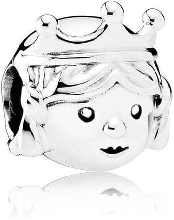 Pandora Srebrna kroglica Lepa princesa 791960 srebro 925/1000