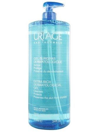 Uriage Čistiaci gél na tvár a telo (Extra-Rich Dermatological Gel) (Objem 500 ml)