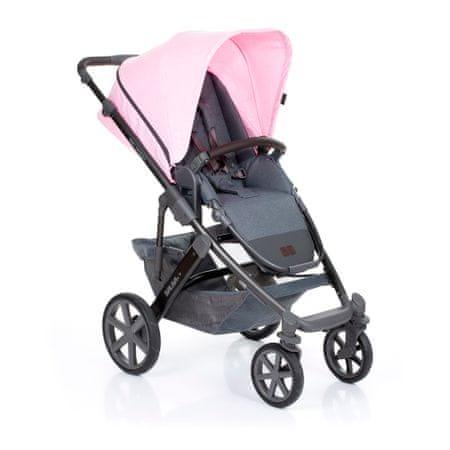 ABC Design wózek dziecięcy Salsa 4 2019 rose