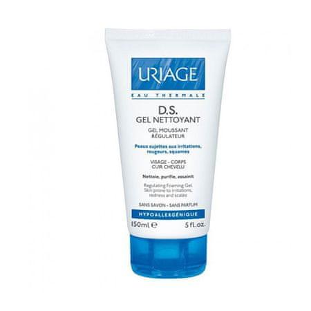Uriage Żel oczyszczający do suchej i podrażnionej skóry DS (Regulating Foaming Gel) 150 ml