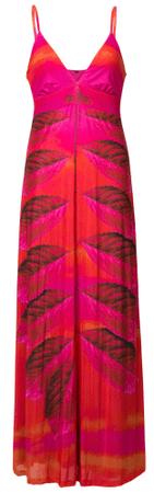 Desigual ženska obleka Vest Marcela, XS, rdeča