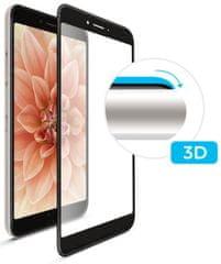 Fixed ochronne szkło hartowane 3D Full-Cover do Huawei P20 Lite, z klejem na cały ekran, czarne FIXG3D-278-BK
