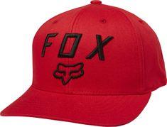 FOX czapka męska czerwony Legacy Moth 110 Snapback
