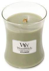 Woodwick Vonná sviečka Jabloňové drevo 275 g
