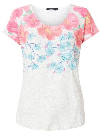 Desigual ženska majica TS Florentina, XS, bela