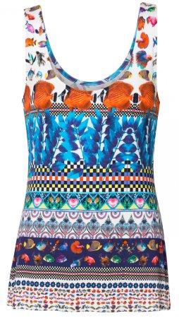 Desigual ženska majica TS Georgina, XS, večbarvna