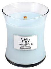 Woodwick dišeča sveča Čistost in udobje, 275 g