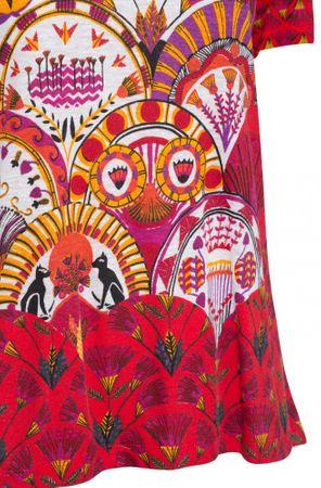 d060cad13 Desigual dámské tričko TS Radiance XS červená   MALL.SK