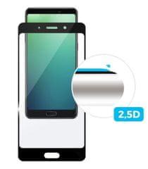 Fixed Ochranné tvrzené sklo Full-Cover pro Xiaomi Mi A2 Lite, přes celý displej, černé, 0,33 mm FIXGF-330-BK