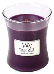 Woodwick Vonná sviečka Pikantná ostružina, 275 g
