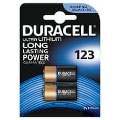 Duracell baterie Ultra Photo CR123A (B2)