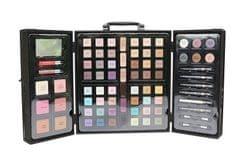 Parisax Luksusowy walizka z pudełkiem do makijażu kosmetycznego