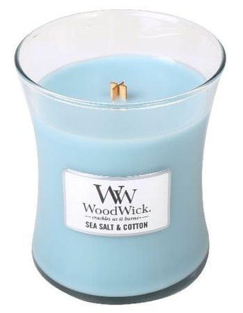 Woodwick mirisna svijeća Morska sol i pamuk, 275 g
