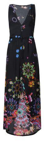 Desigual ženska obleka Vest Magda, M, črna