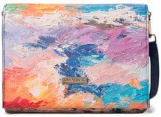 Desigual vícebarevná crossbody kabelka Bols Landscape Nimbu