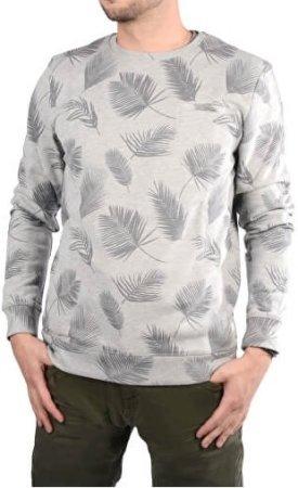 Cars-Jeans Pánská šedá mikina s potiskem Paro Greymel 4158753 (Velikost M)