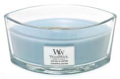 Woodwick Vonná sviečka Morská soľ a bavlna 453,6 g