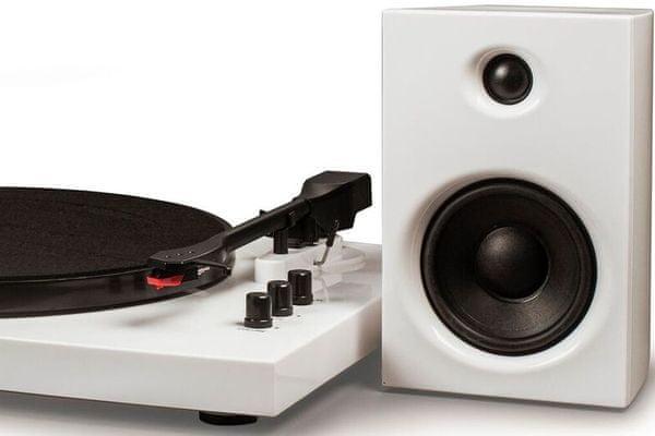 Crosley T100 lemezjátszó minimalizmus eredetiség stílus 2 sebesség erősítő hangszórók