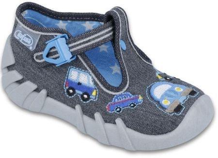 Befado cipele za dječake s automobilom, 19, sive