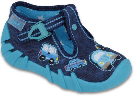 Befado cipele za dječake s automobilom, 21, plave