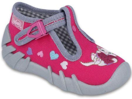 Befado cipele za djevojčice s mačkom, 19, rozo-sive