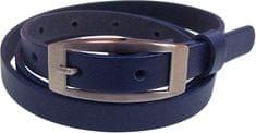 N.Ties Dámský tmavě modrý kožený opasek OKD15006