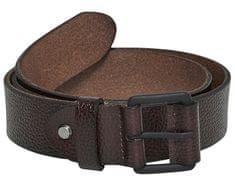 ONLY&SONS Pánský opasek Calvin Leather Belt Brown Stone