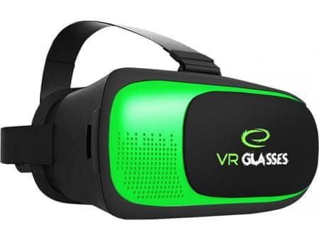 Esperanza 3D očala za pametne telefone + Bluetooth daljinec